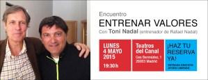 Conferencia de Toni Nadal de Ideas Imprescindibles
