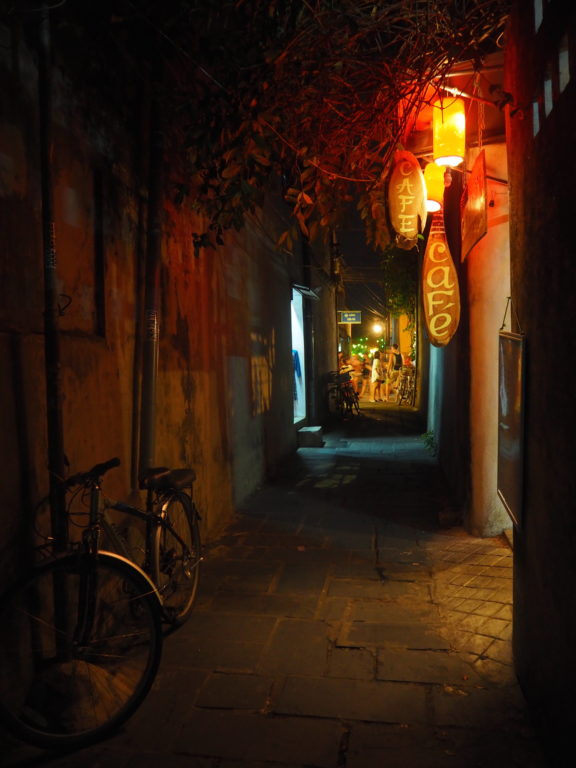 An alleyway in Hoi An