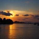 Cruising in Halong Bay