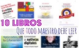 10 libros para maestros