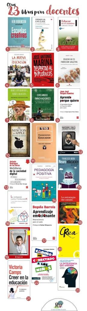 23 libros docentes