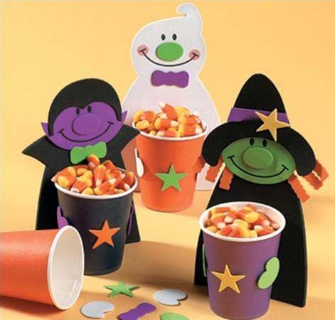 Decoración Halloween comida dulces