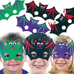 Halloween decoración máscaras