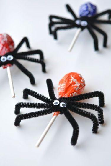halloween decoración dulces