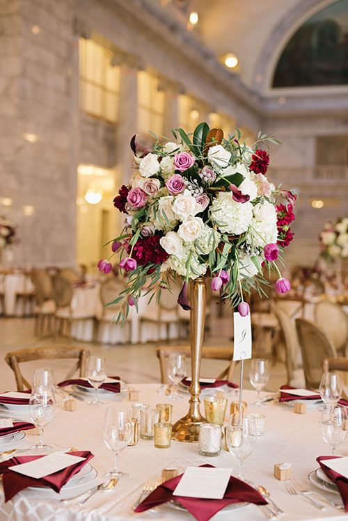 Centerpiece Arrangements Tables