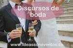 Discursos de boda