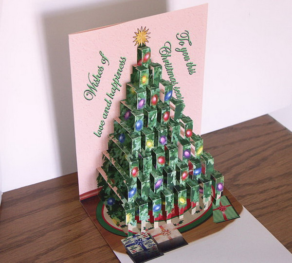 30 Pop Up Christmas Cards 2017