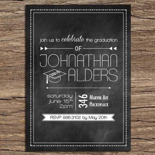 Cool Graduation Party Invitations