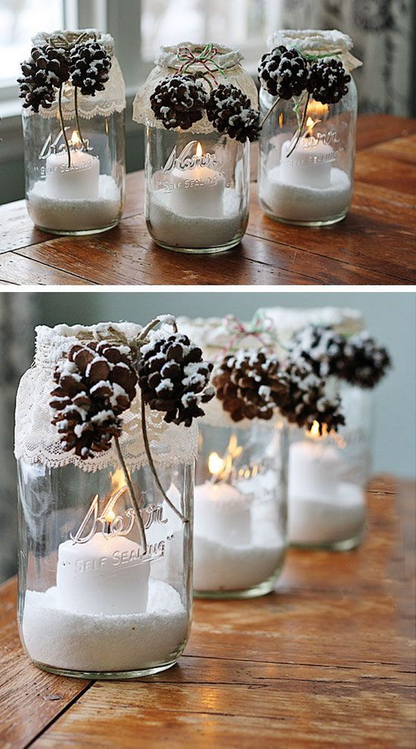 20 Awesome Winter Decorating Ideas Tutorials 2017