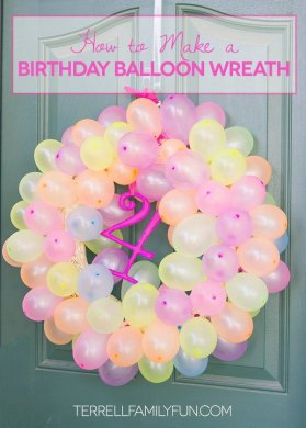 Awesome Balloon Decorations 2017 DIY Balloon Wreath