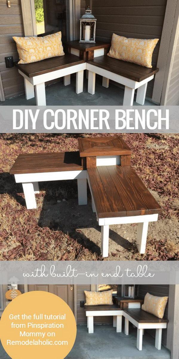 40 creative outdoor bench diy ideas and
