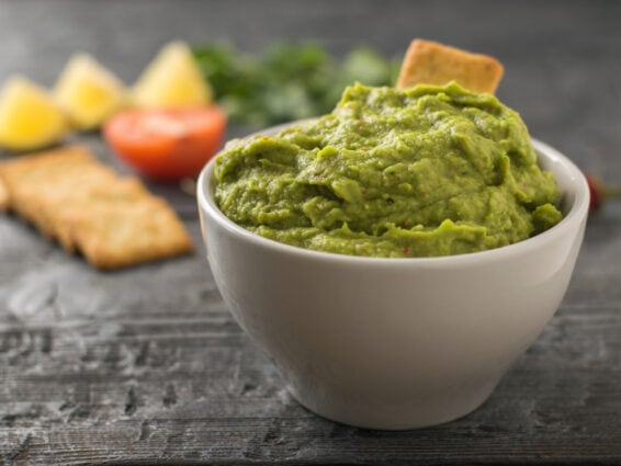 Guacamole with a twist