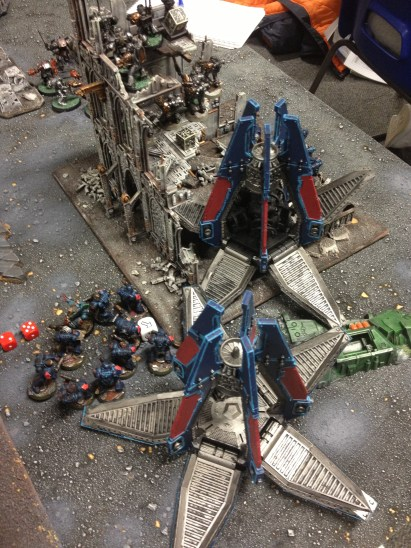 While Ramiro begins his attack on the Tau