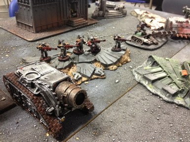 The Siege Tank and the Corroded Ones