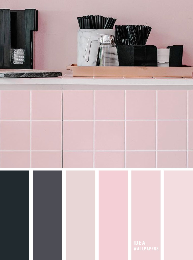 19 The perfect pink color combinations { Black and Pink color Palette } color scheme, pink color combination, black and pink color scheme, color scheme ,colors #color #colorpalette