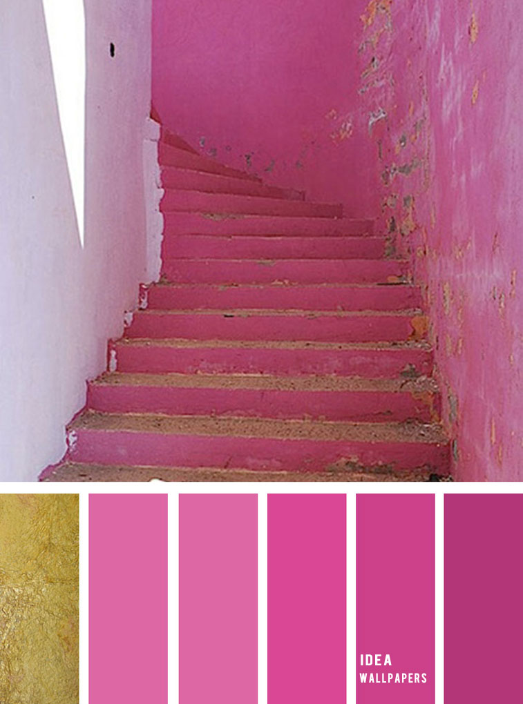 19 The Perfect Pink Color Combinations { Perisian pink + China pink + Super pink }, pink color palette, colour palette #color #colorpalette