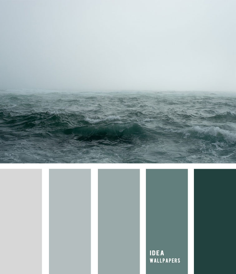 Sea Fog And Grey Green Ocean Inspired Color Palette 19052212 Idea Wallpapers Iphone Wallpapers Color Schemes