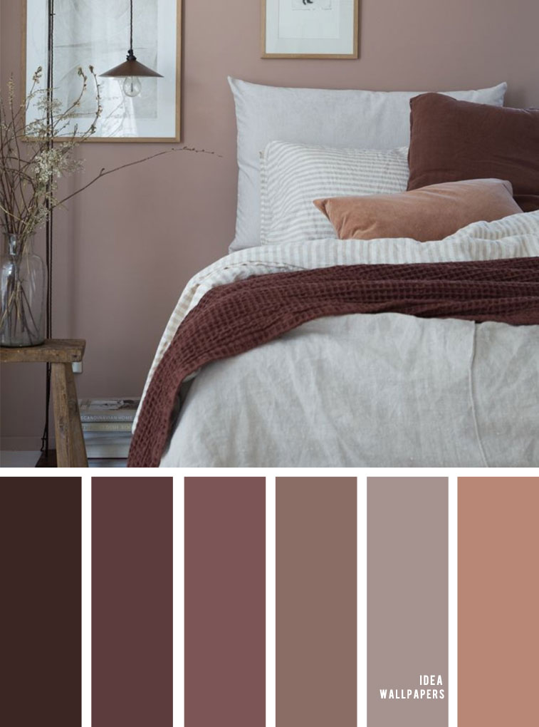 Beautiful Color Schemes For Your Bedroom - Earth Tones #color #bedroomcolor #earthy