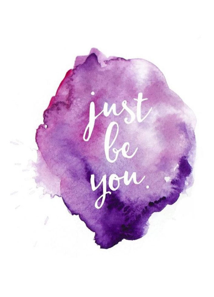 34 positive inspiration quotes - just be you - positive quote #quote