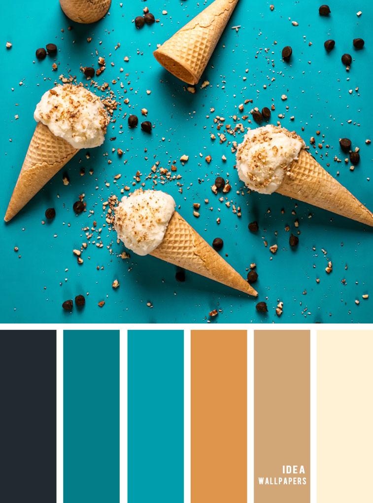 Color Inspiration : Dark Grey + Teal + Camel Color Palette #color #colorinspiration #teal #pantone #summer