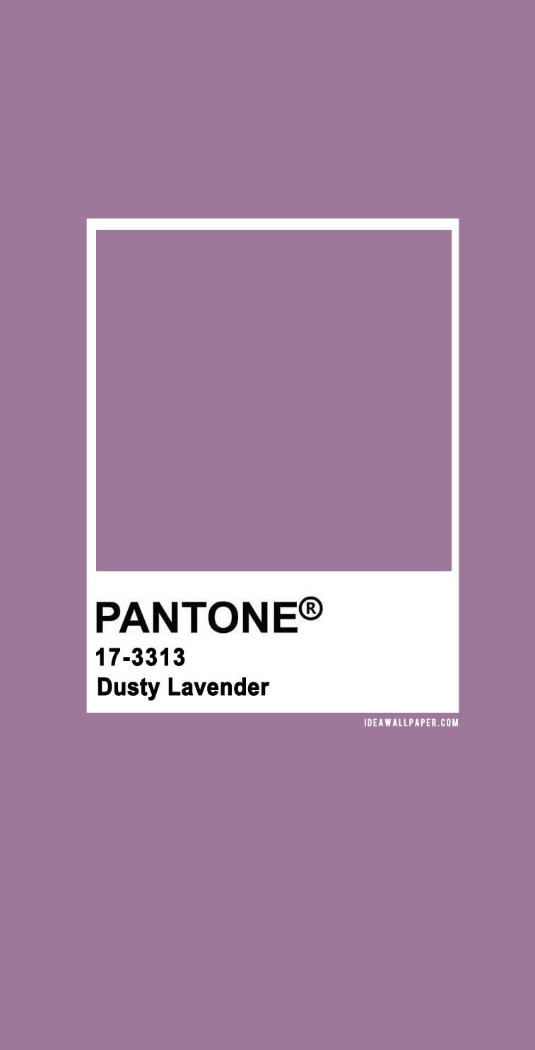 60 Pantone Color Palettes : Pantone Dusty Lavender 17-3313 #pantone #color #purple #dusty lavender