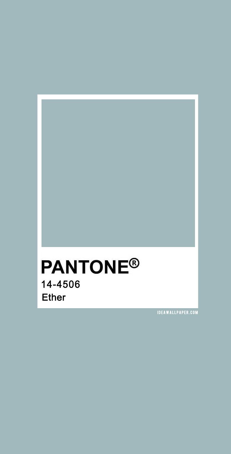60 Pantone Color Palettes : Pantone 14-4506 Ether #pantone #color #green #ether #sage