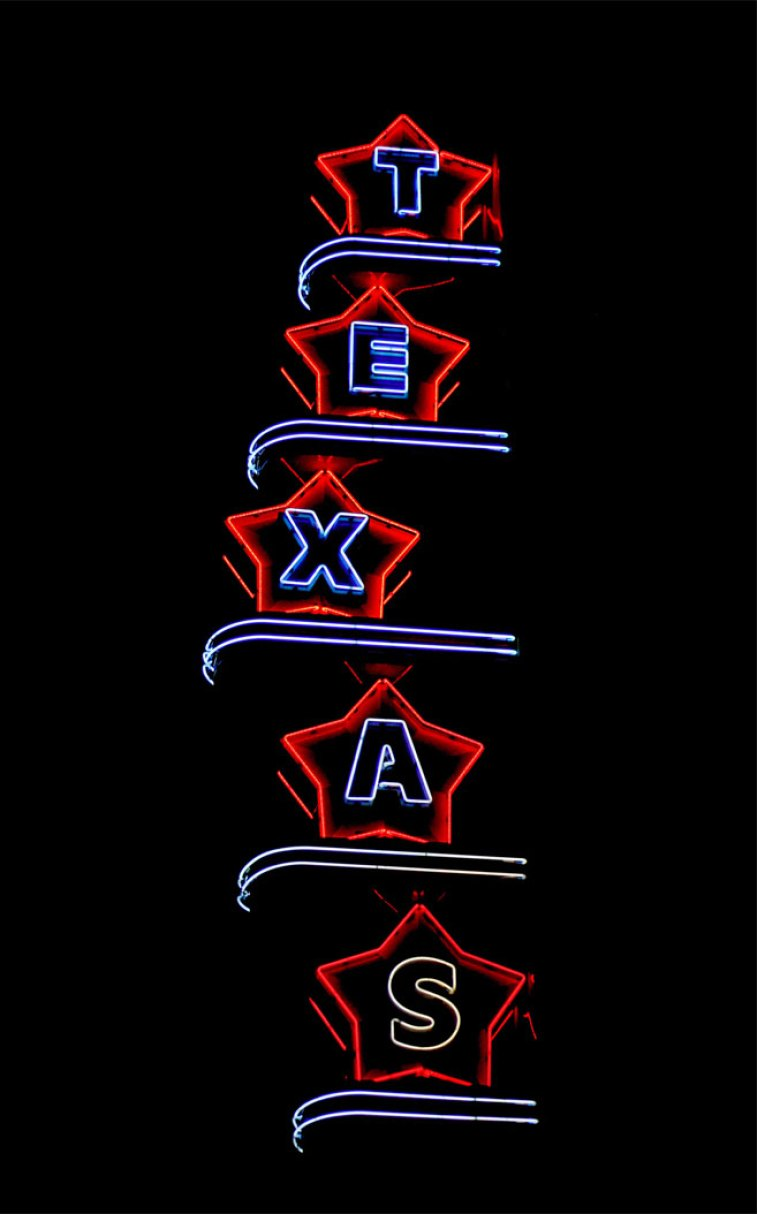 Texas neon lights #wallpaper #color #background