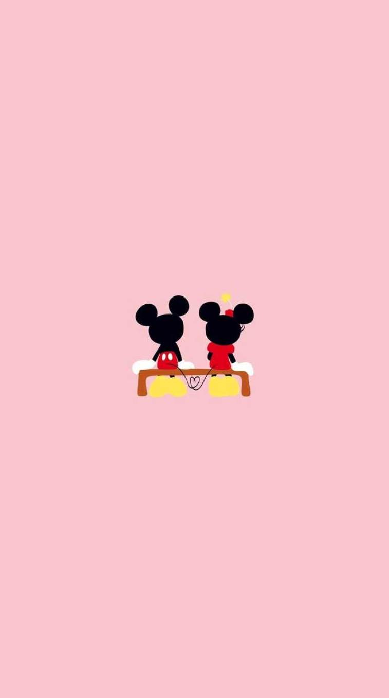 Micky Mouse Cute Iphone Wallpaper Idea Wallpapers Iphone Wallpapers Color Schemes