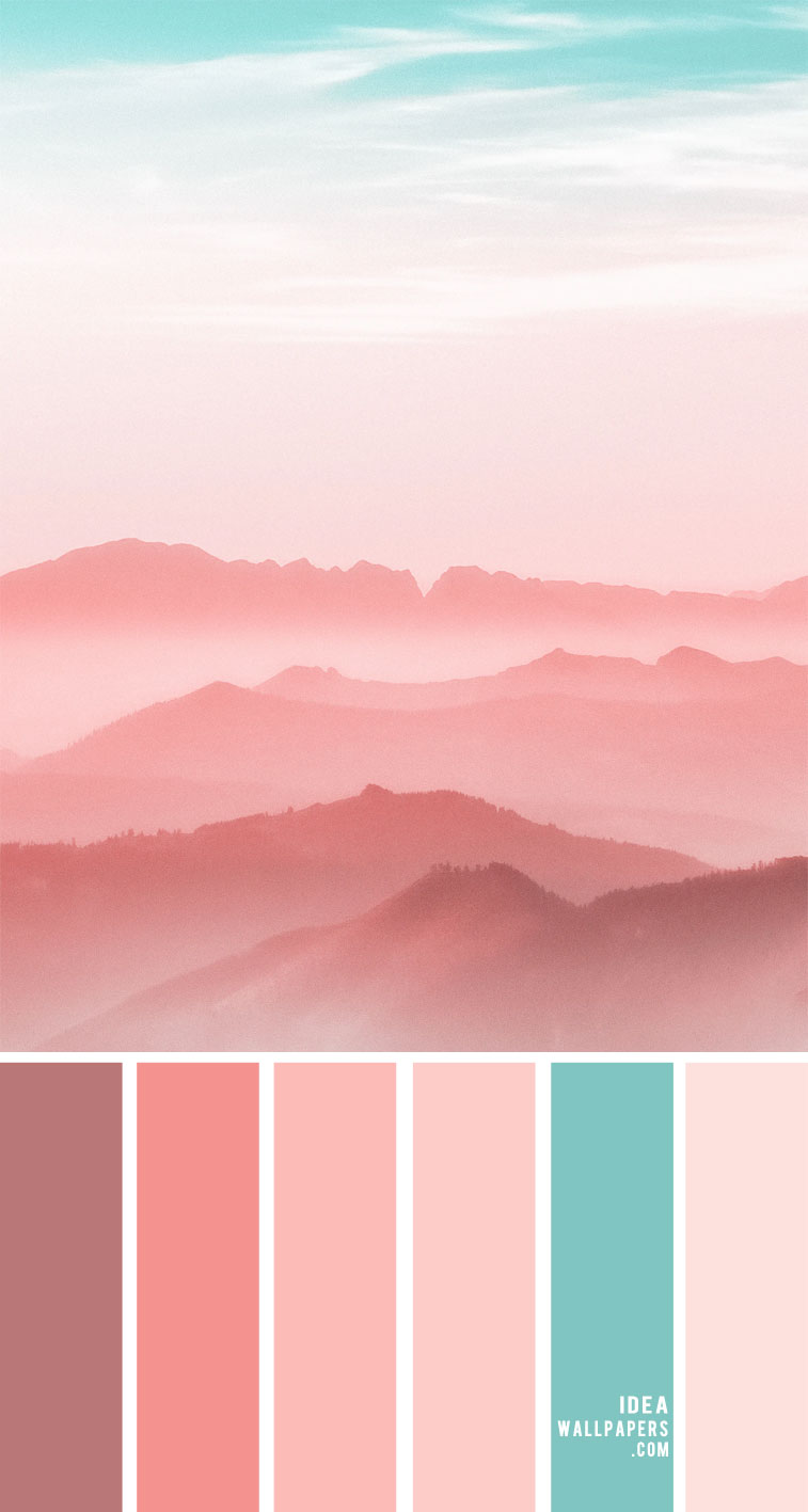 #colors pink coral color palette, coral hued, coral hues, color palette, colors , mood board, coral color palette, pink coral , coral and turquoise , coral and tiffany