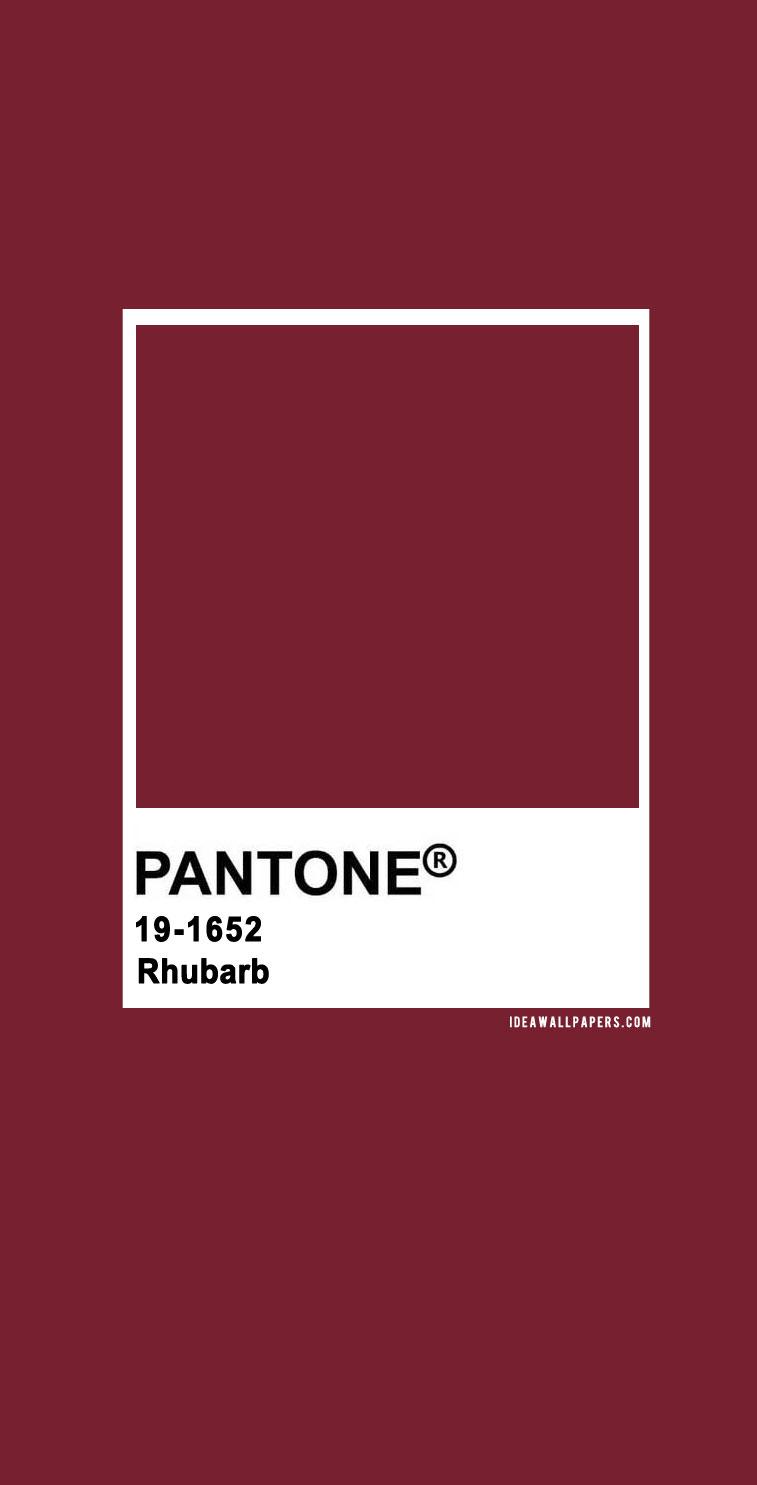 Pantone Rhubarb : Pantone 19-1652 Rhubarb, pantone burgundy, pantone rhubarb #color #pantone pantone 2020, pantone color, pantone color 2020, pantone clothing, pantone palette, pantone paintpantone color of the year, pantone color of the year 2020, pantone colour of the year 2020