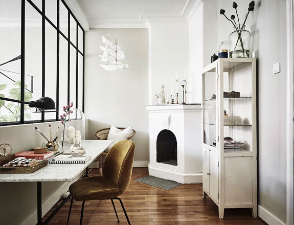 home office decor, home office in apartment, home office decor ideas, small home office