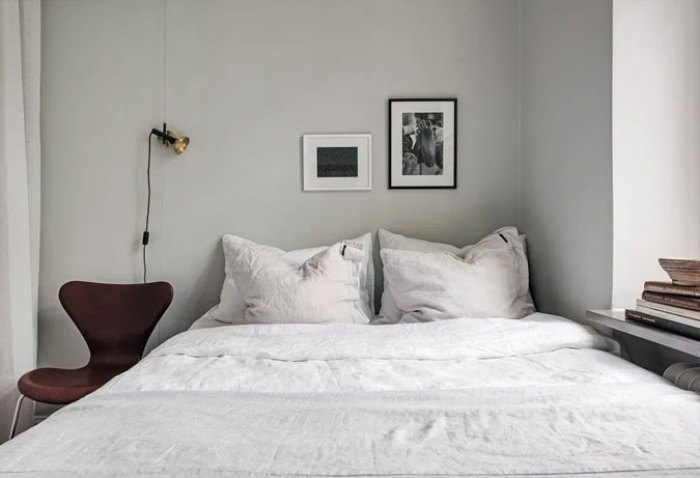 bedroom decor, simple bedroom, grey bedroom