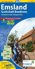 Emsland ADFC Regionalkarte 2015