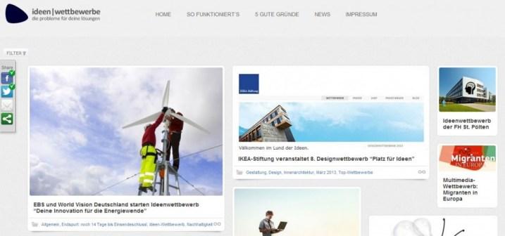 Homepage ideenwettbewerbe.com