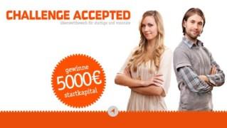 Challenge Accepted Businessplan-Wettbewerb
