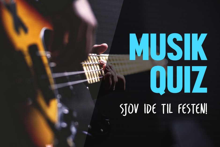 Musikquiz Lav En Sjov Musikquiz Til Festen Quiz Med Musik