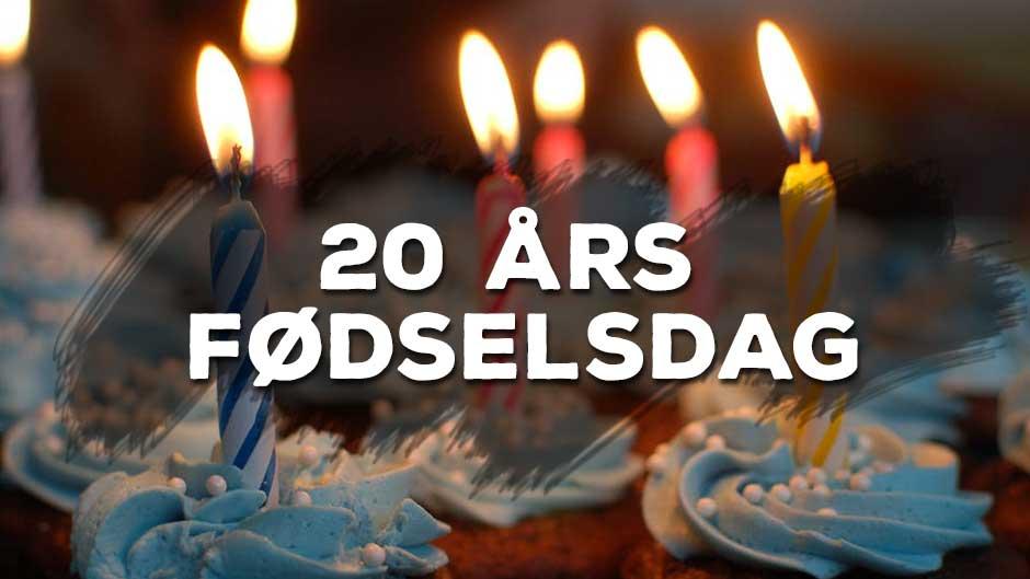 20 års fødselsdag