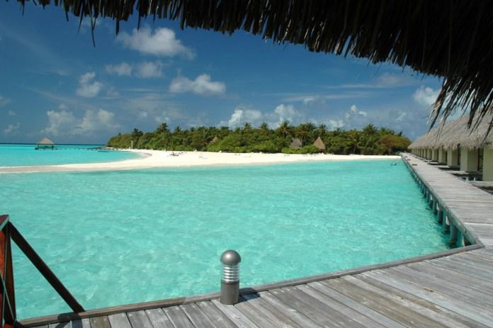 I bellissimi resort direttamente sul mare delle Maldive