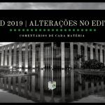 CACD 2019   Comentários sobre cada matéria do edital