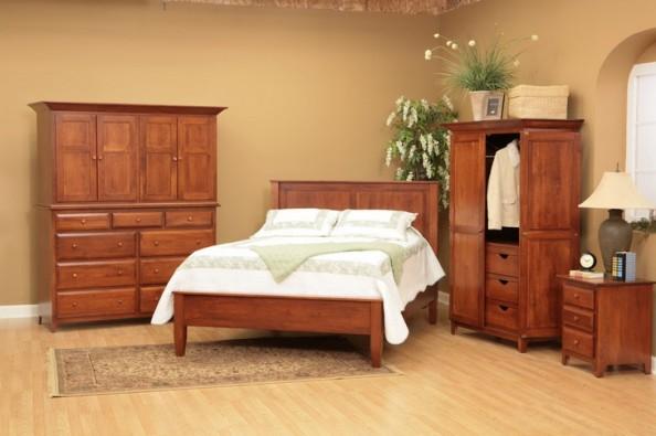amenajare dormitor rustic
