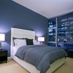 blue dormitor