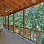 veranda lemn cabana