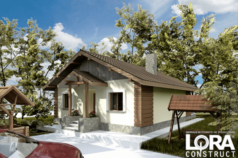 proiecte de case cu parter