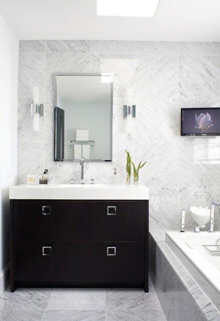 baie alb negru gramit