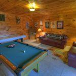 sala biliard cabana lemn