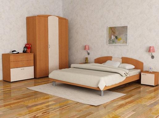 dormitor cu tapet