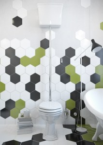 mozaic fagur verde