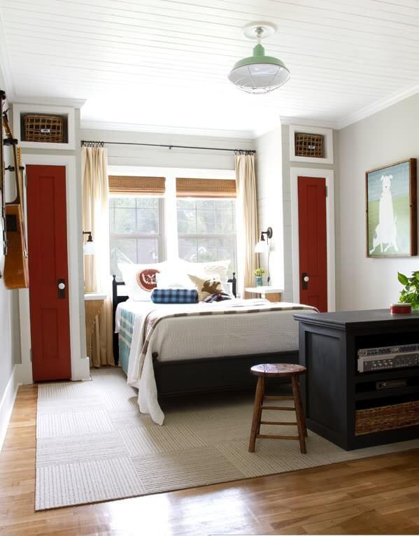 cobinatie dormitor-birou
