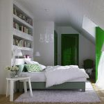 dormitor clasic la mansarda