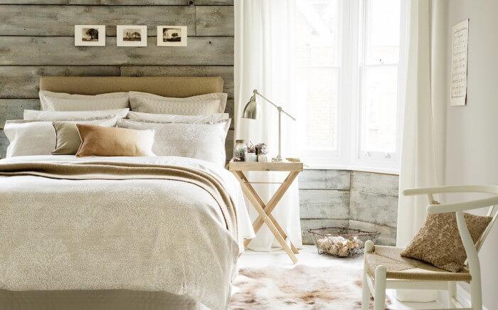 rustic modern dormitor